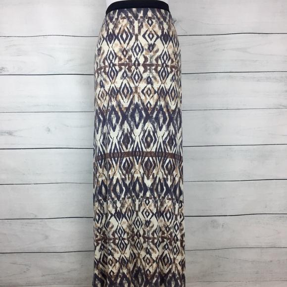 98644a05e9 Free People Dresses & Skirts - Free People Boho Printed Maxi Skirt